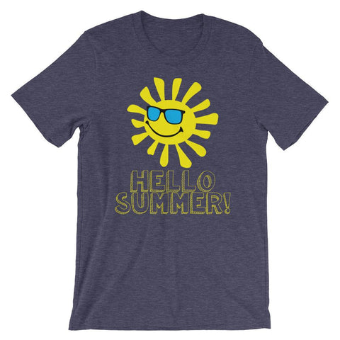 Hello Summer Shirt for Summer Vacation-Faculty Loungers