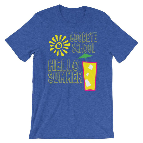 Hello Summer Vacation Shirt-Faculty Loungers