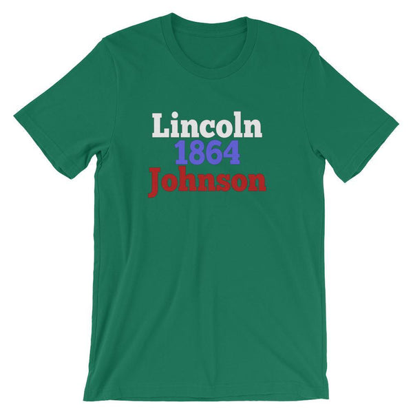 Historical Election Shirt for Teachers, Abe Lincoln & Andrew Johnson 1804-Faculty Loungers