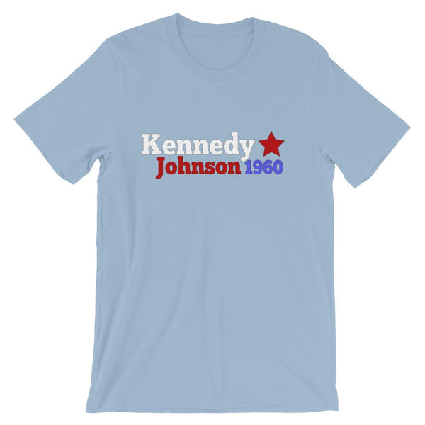 Historical Election Shirt for Teachers, John F Kennedy & Lyndon B Johnson 1960-Faculty Loungers
