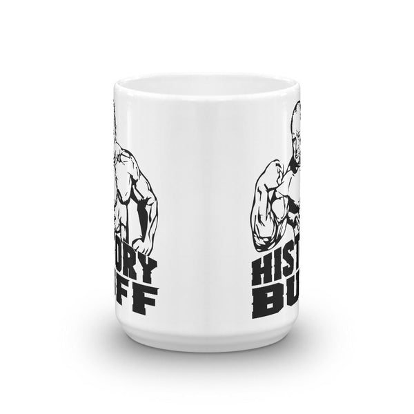 History Buff Gift - Winston Churchill Mug-Faculty Loungers