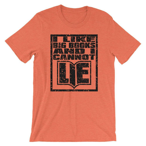 Funny English Teacher Shirt, I Like Big Books-Faculty Loungers