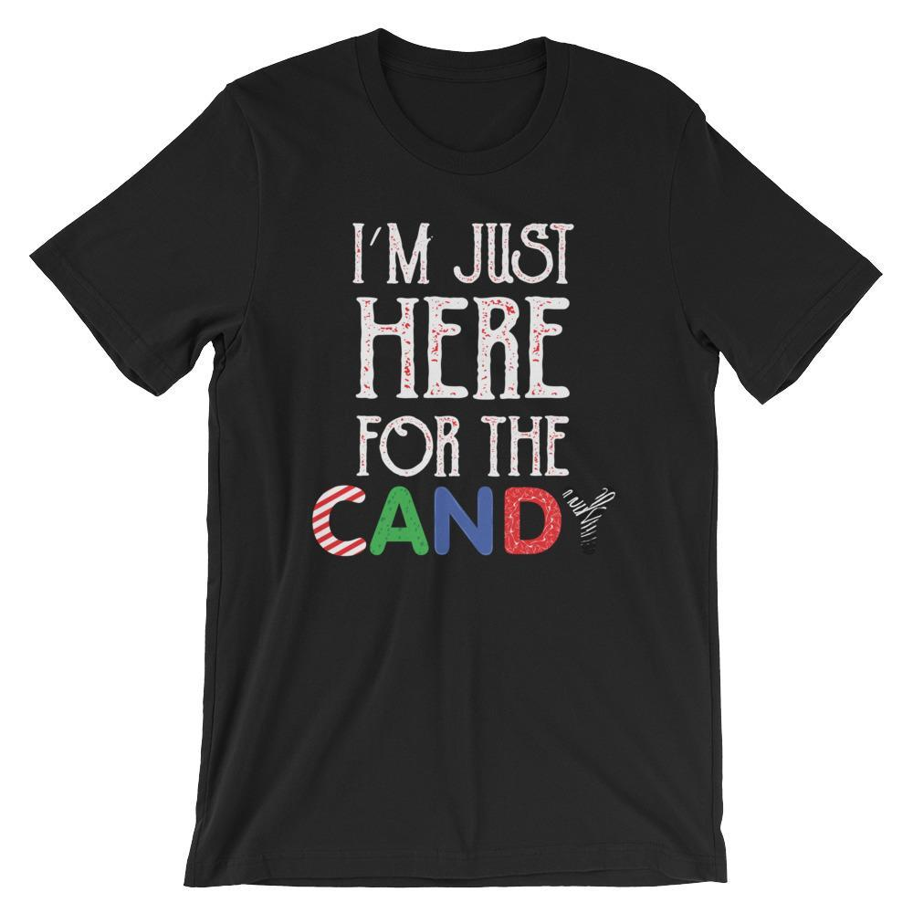 Just Here for the Candy Shirt-Faculty Loungers