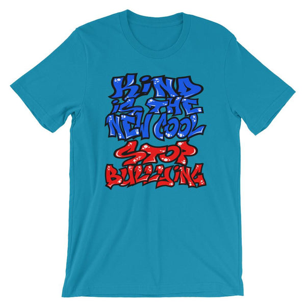 Kind is the New Cool - Stop Bullying Graffiti T-Shirt-Faculty Loungers