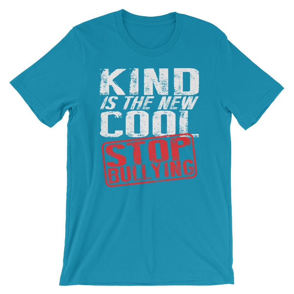 Kind is the New Cool - Stop Bullying T-Shirt-Faculty Loungers