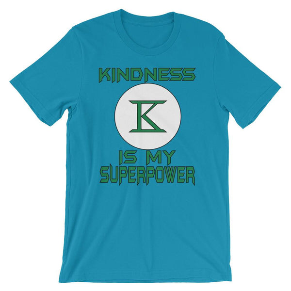 Kindness is My Superpower - Anti Bullying Superhero T-shirt-Faculty Loungers