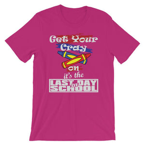 Last Day of School Get Your Cray On for Summer Break-Faculty Loungers