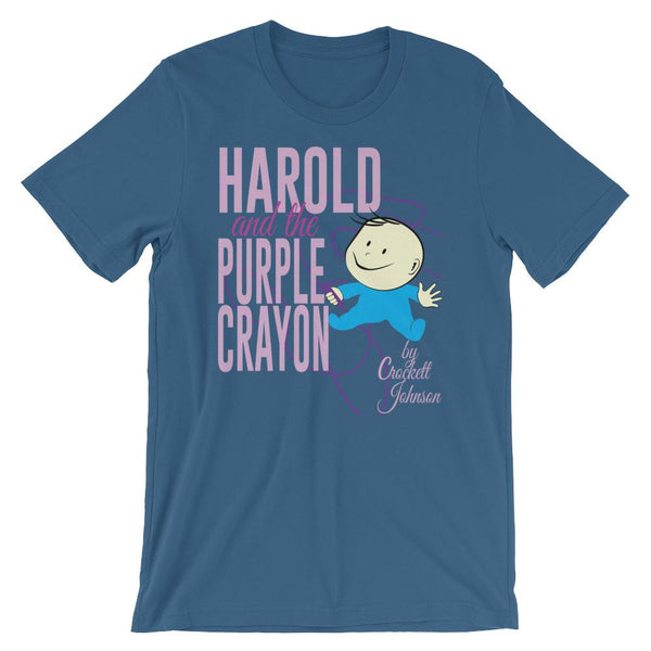 Literature Shirt - Harold and the Purple Crayon - Crockett Johnson-Faculty Loungers