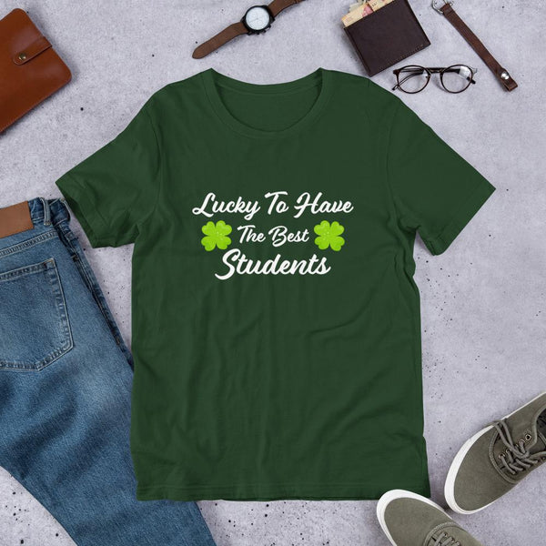Lucky Teacher Tshirt - St Patricks Day Tees-Faculty Loungers