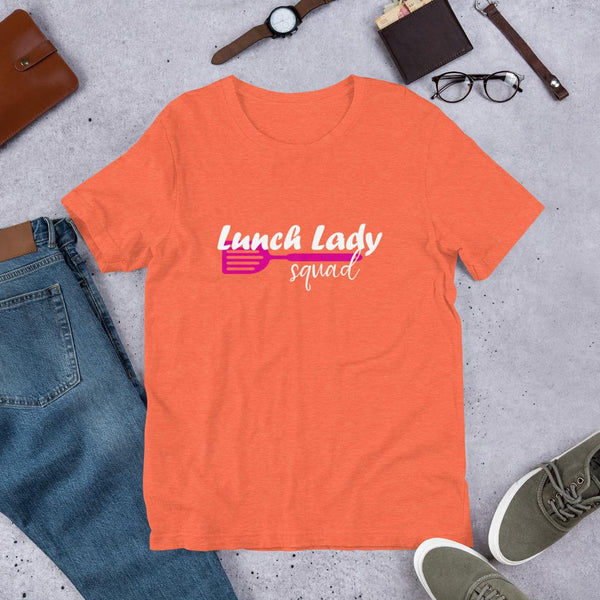 Lunch Lady Squad Tee Shirt-Faculty Loungers