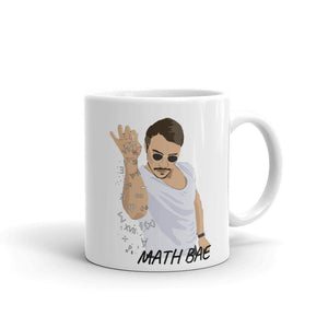 Math BAE Funny Mug for Math Teachers, Gift for Math Teachers and Math Nerds-Faculty Loungers