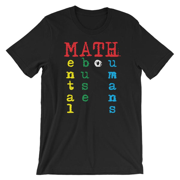 Math Teacher Humor Shirt-Faculty Loungers