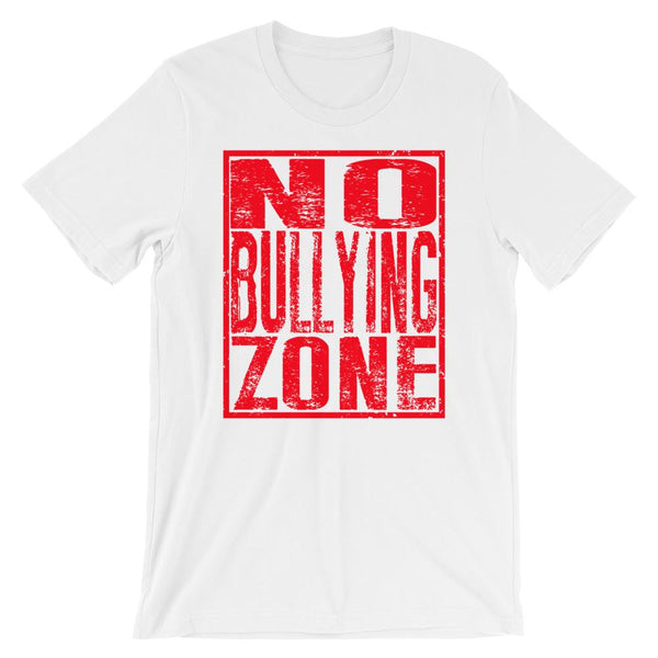 No Bullying Zone - Anti-Bullying T-shirt for Teachers-Faculty Loungers