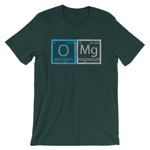 OMG Funny Periodic Table Shirt-Faculty Loungers