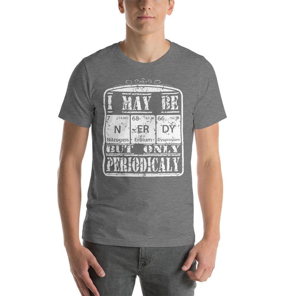 Cheesy Periodic Table Pun Shirt for Chemistry Teachers and Science Geeks-Faculty Loungers