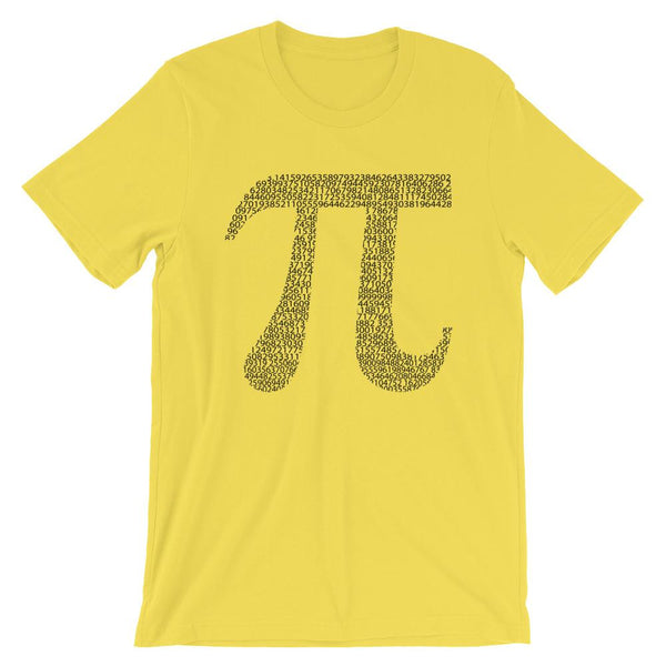 Pi Day Shirt with the Numbers of Pi for Math Teachers and Math Nerds-Faculty Loungers
