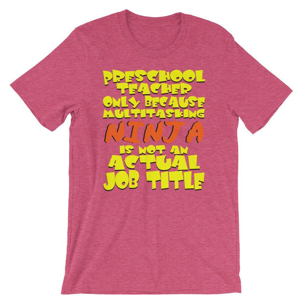 Preschool Teacher Tee Shirt-Faculty Loungers