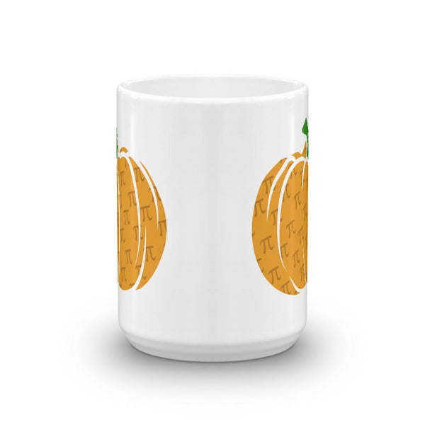 Pumpkin Pi Coffee Mug, Pi Day Math Teacher Mug-Faculty Loungers