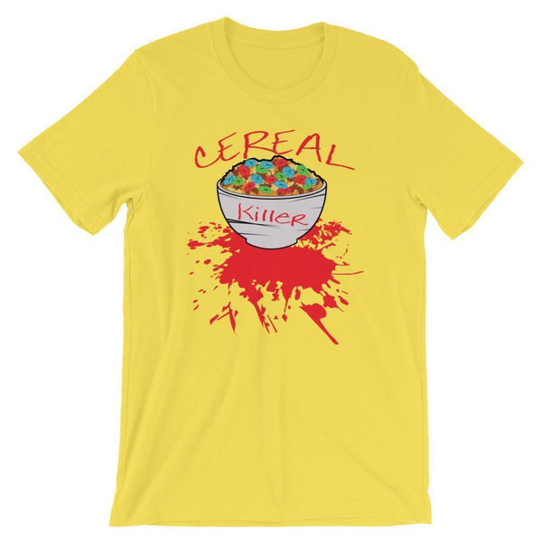 Punny Cereal Killer Shirt-Tee Shirt-Faculty Loungers Gifts for Teachers