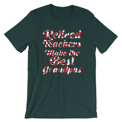 Retired Teacher Shirt for Grandfathers-Faculty Loungers