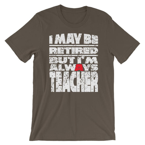 Retired Teacher Shirt - Gift for Retirement-Faculty Loungers