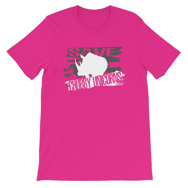 Save the Rhinos aka Chubby Unicorns Short-Sleeve T-Shirt