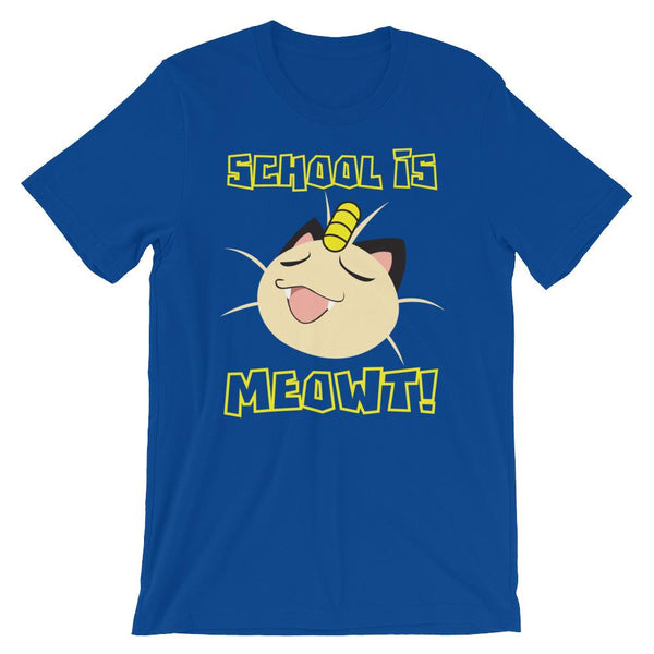 School is Meowt T-Shirt-Faculty Loungers