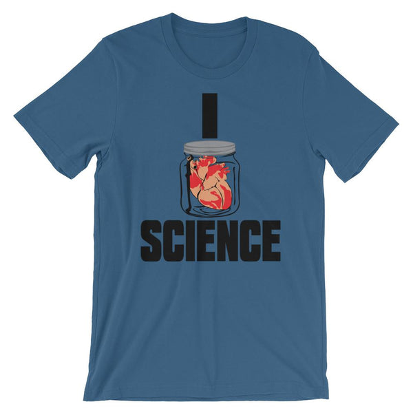 Science Nerd Shirt - I Heart Science-Faculty Loungers