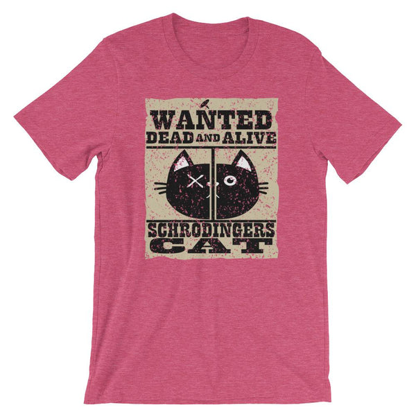 Science Nerd Shirt - Schrodinger's Cat-Faculty Loungers
