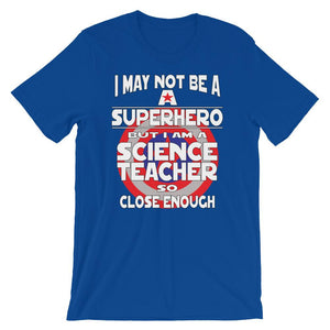 Science Teacher Superhero Gift-Faculty Loungers