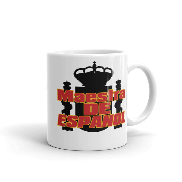 Spanish Teacher Mug - Maestra de Espanol-Faculty Loungers