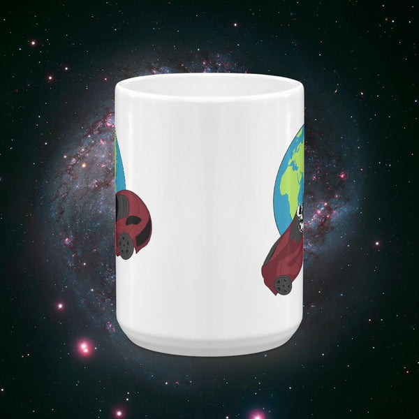 Starman SpaceX Tesla Inspired Coffee Mug - Gift for Science Nerds