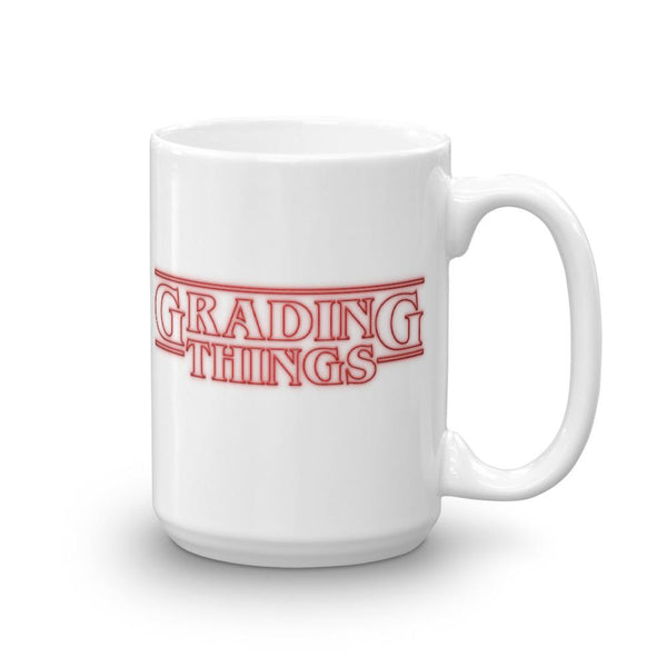Stranger Things Teacher Parody Mug, Grading Things, Teacher Gift Idea