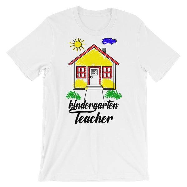 Cute Kindergarten Shirt, Kindergarten Teacher Gift, Teacher Gift Idea, Teacher Appreciation-Faculty Loungers