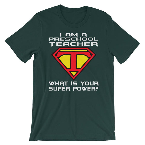 Super Preschool Teacher Shirt-Faculty Loungers