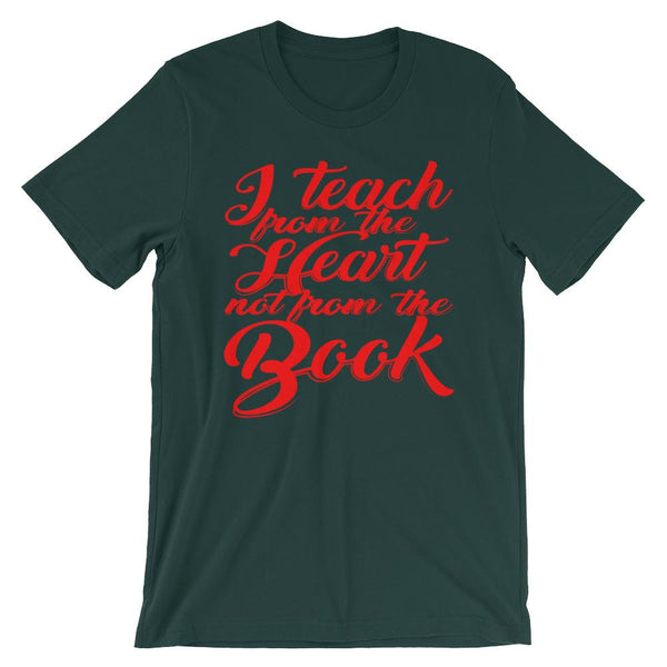 Teach from the Heart T-Shirt-Faculty Loungers