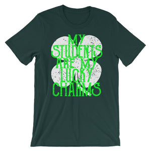 Teachers St Patricks Day Shirt - My Students are My Lucky Charms-Faculty Loungers