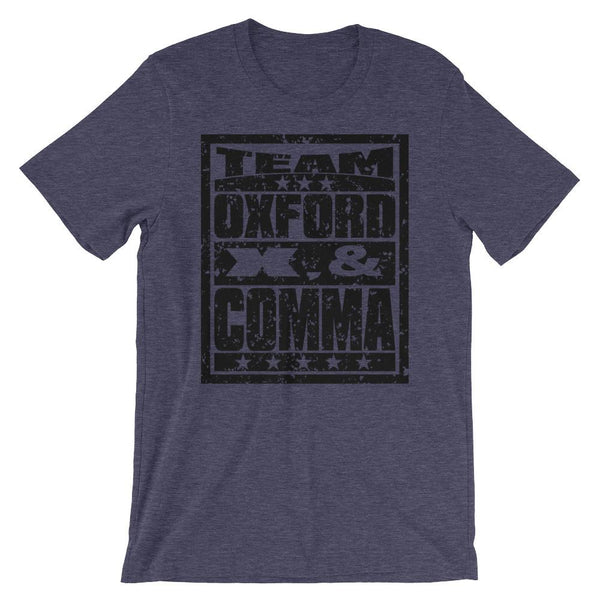 Team Oxford Comma Tee Shirt-Faculty Loungers