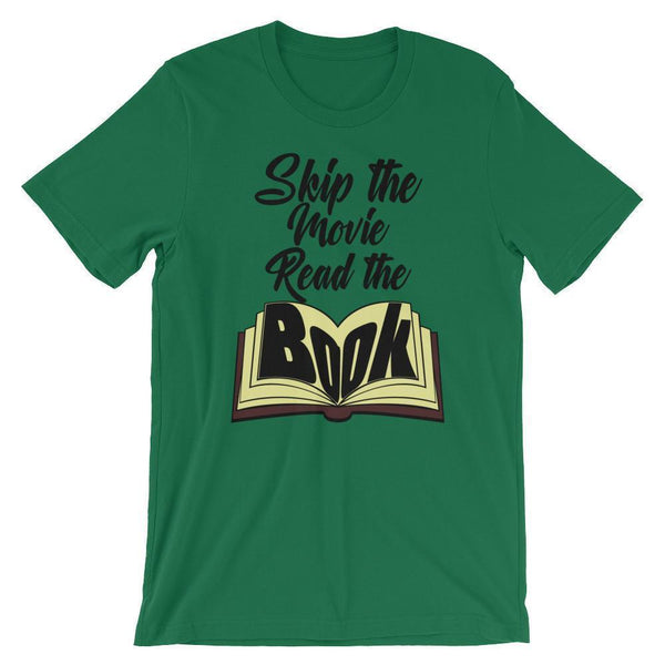 The Book was Better Shirt-Tee Shirt-Faculty Loungers Gifts for Teachers