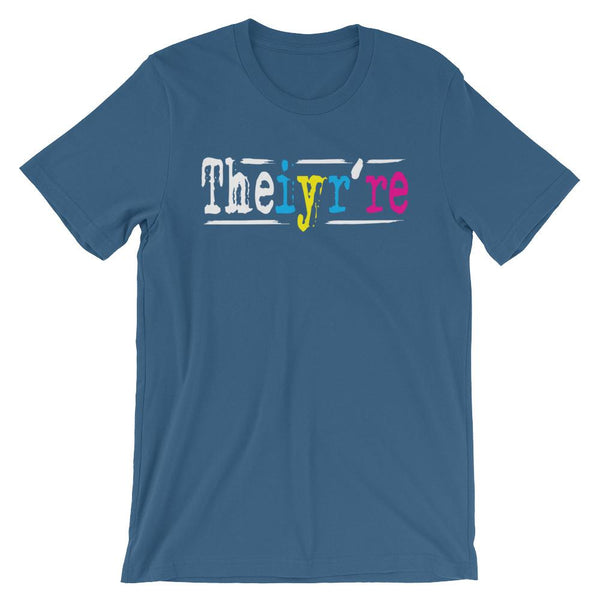 Theiyr're Instead of There Their They're Shirt-Faculty Loungers