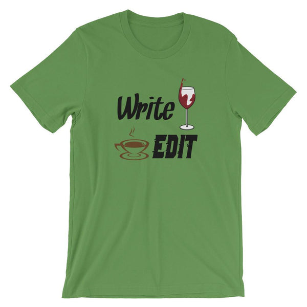 Writer Shirt - Write Drunk Edit Caffeinated-Faculty Loungers