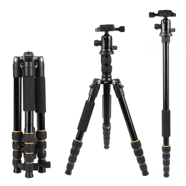 S666 Lightweight Tripod+Ball Head