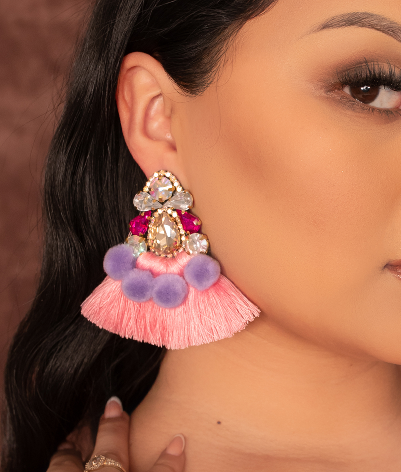 Berrinchuda Tassel Earrings