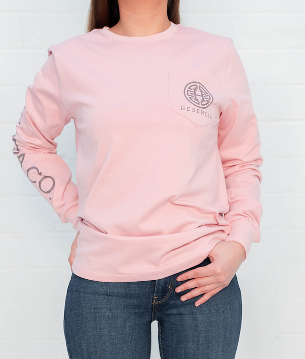 Amor Del Bueno Long Sleeve Pocket Tee