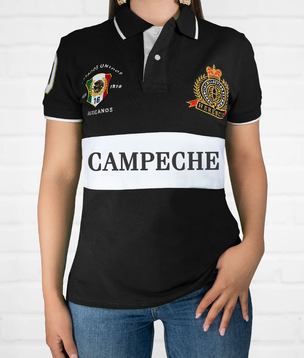 Campeche Women's Short Sleeve Polo