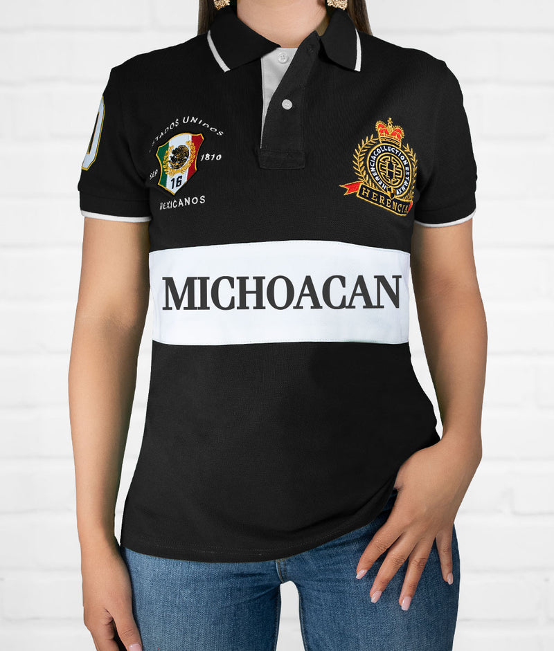 Michoacan Women's Short Sleeve Polo