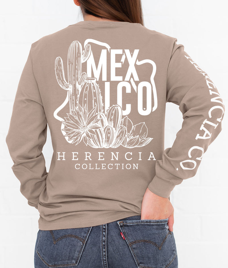 Champurrado State Nopalazo Long Sleeve Pocket Tee