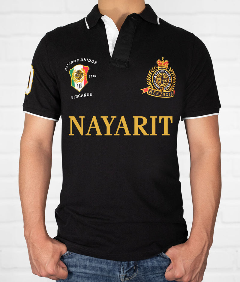 Nayarit Men's Short Sleeve Polo