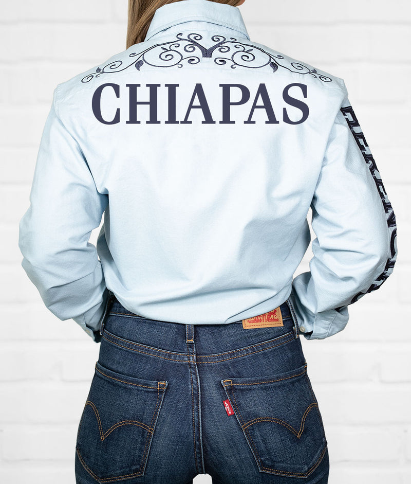 Chiapas Women's Jaripeo Button-Down