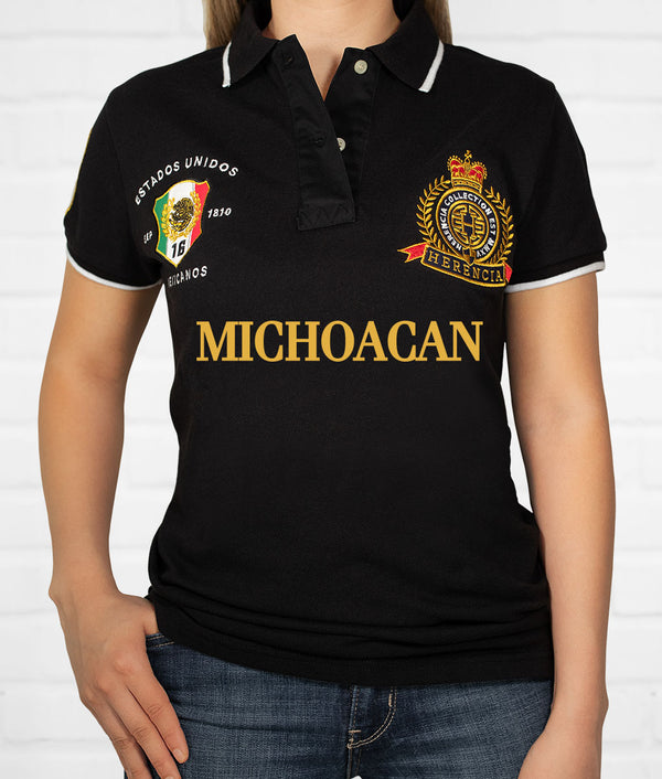 Michoacán Women's Short Sleeve Polo